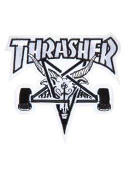 Thrasher Patch Skate Goat White/Black