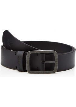 DICKIES Eagle Lake Leather Belt - Black