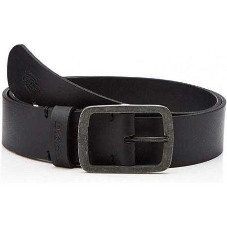 DICKIES Eagle Lake Leather Belt - Black