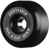 Mini Logo Wheels Hybrid A-Cut II Black - 55mm / 90A
