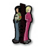 Androids Classic Pin - Black