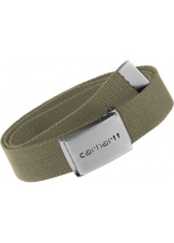 Carhartt Clip Belt Chrome - Leather