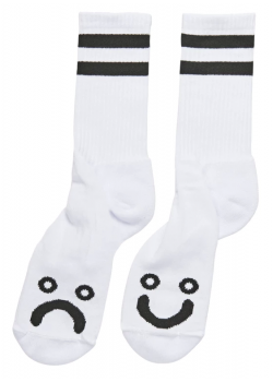 Socks Polar - White - Happy Sad