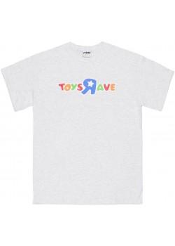 Toys Rave Tee - Ash Grey