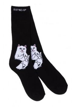 Lord Nermal Socks - Black