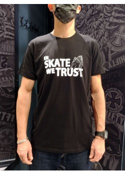 SHIFTY - In Skate We Trust Tee - Black