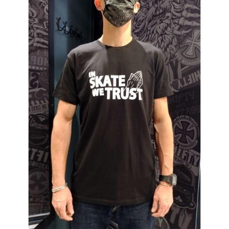SHIFTY - In Skate We Trust Tee - Black