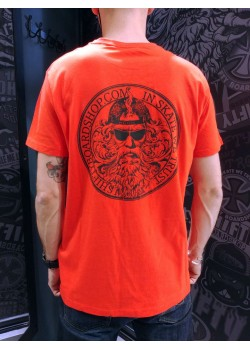 SHIFTY - God Tee - Orange - In Skate We Trust
