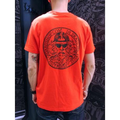 SHIFTY - God Tee - Orange - In Skate We Trust