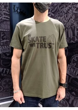 SHIFTY - In Skate We Trust Tee - Khaki