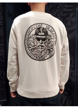 SHIFTY - God Sweat Crew - Beige - In Skate We Trust