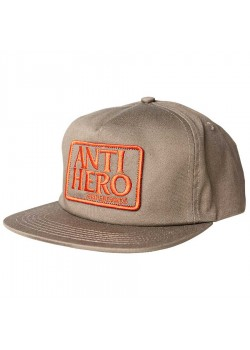 ANTI HERO Cap Reserve Patch - Brown / Red