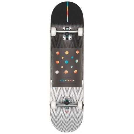 """GLOBE G1 Nine Dot Four 8"""" - Black White - Skateboard Complet"""