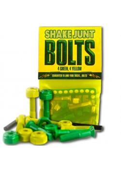 """Shake Junt hardware 1"""" - Green Yellow"""