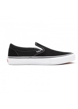 Skate Slip-On Black / White