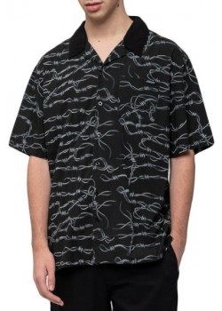 Barbed Wire Shirt - Black