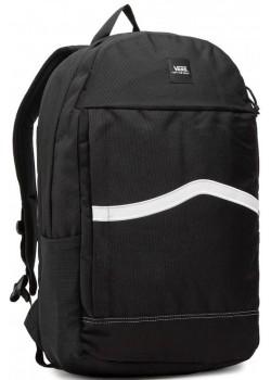 Vans Construct Skool Backpack - Black / White
