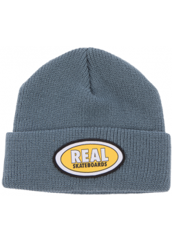 Beanie Real Oval - Slate Yellow