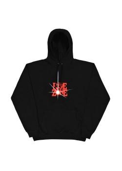 The Rave Zone Hoodie - Black