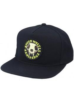 SW Skull Snapback - Black