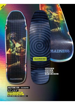 """Madness Halftone Son R7 Holographic - 9.5"""" x 32"""""""
