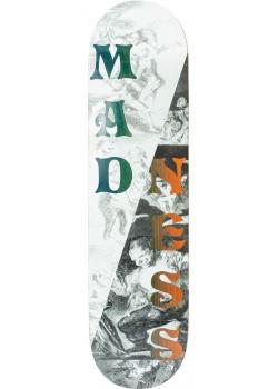 "Madness Split Overlap R7 Black White - 8"" x 31.62"""
