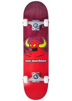 """Toy Machine Mini Monster Red - 7.375"""" - Skate Complet"""