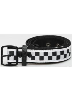 Indio Belt - Black / White Checker