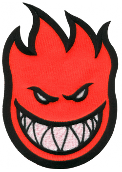 Spitfire Patch Bighead Red