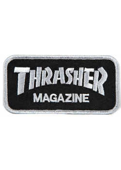 Thrasher Patch Logo Grey/Black