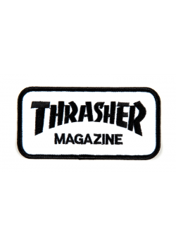 Thrasher Patch Logo Black/White