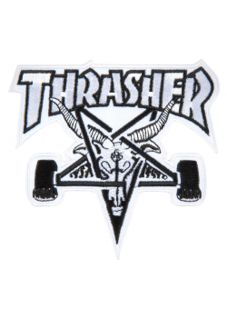 Thrasher Patch Skate Goat White/Black