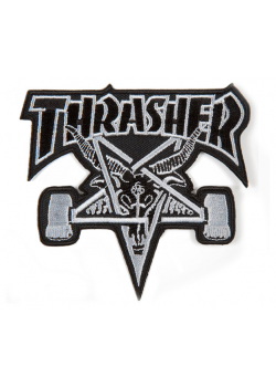 Thrasher Patch Skate Goat Black/White