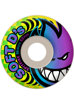 Spitfire Soft D's - 54mm / 95 duro