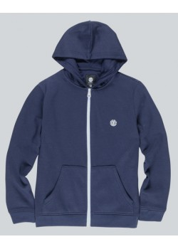 element Cornell Classic Zip Hood Boy - Eclipse navy