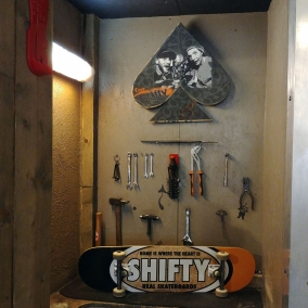 Real Skateboards X Shifty