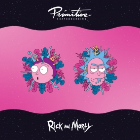 Primitive X Rick and Morty