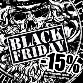 BLACK FRIDAY -15% pendant 24H ;)