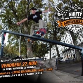 #shiftywebisode n°2 / En avant première à la ferro