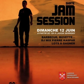 Skate Jam Session - Dimanche 12 Juin - Ladoix Serrigny